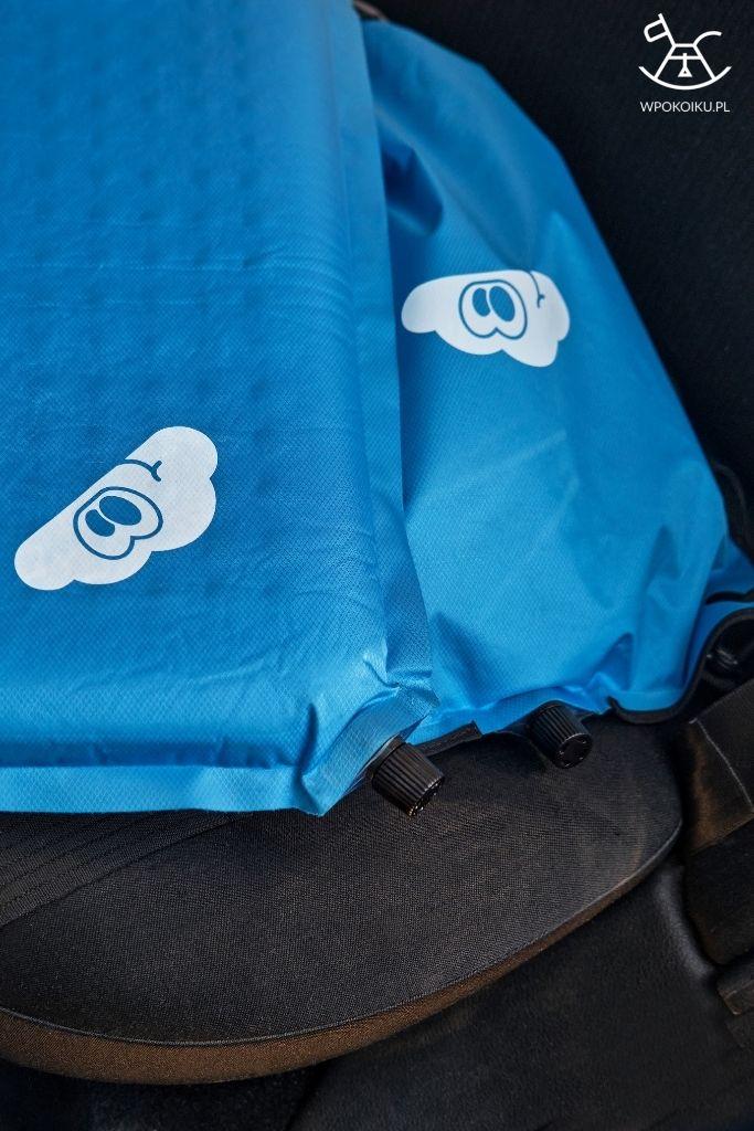 przewijak podróżny i torba-poduszka