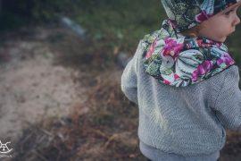 Spacer z dzieckiem - jesienny i stylowy