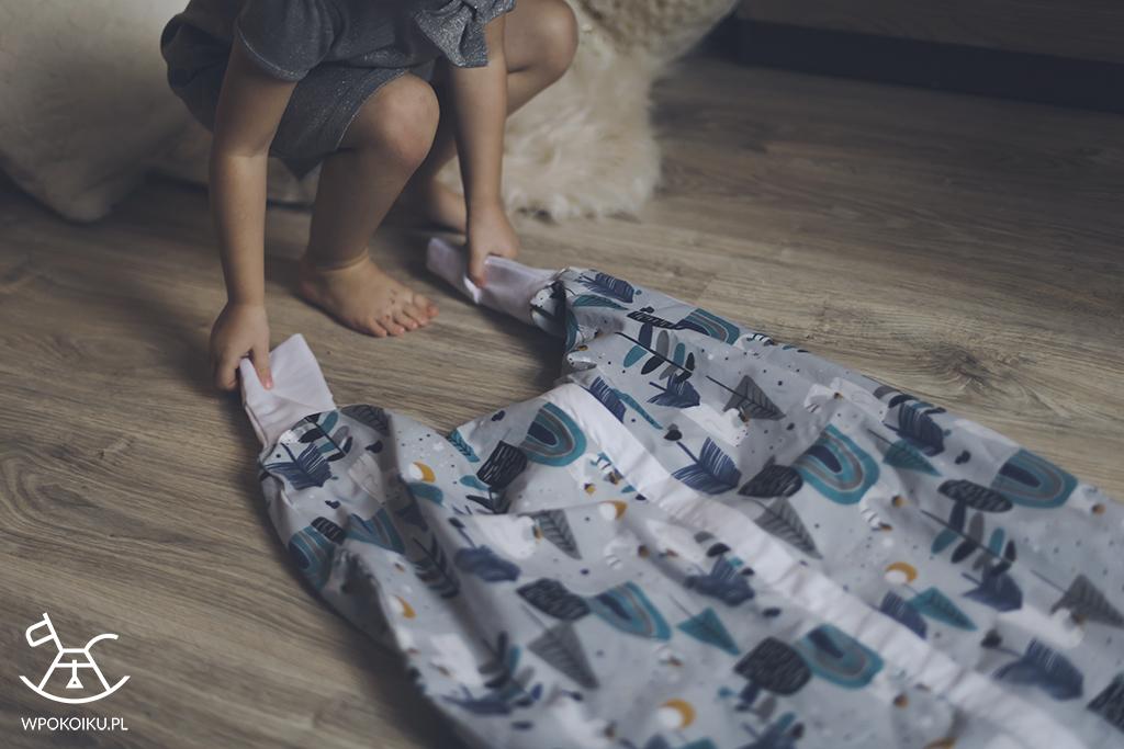 śpiworek z nogawkami