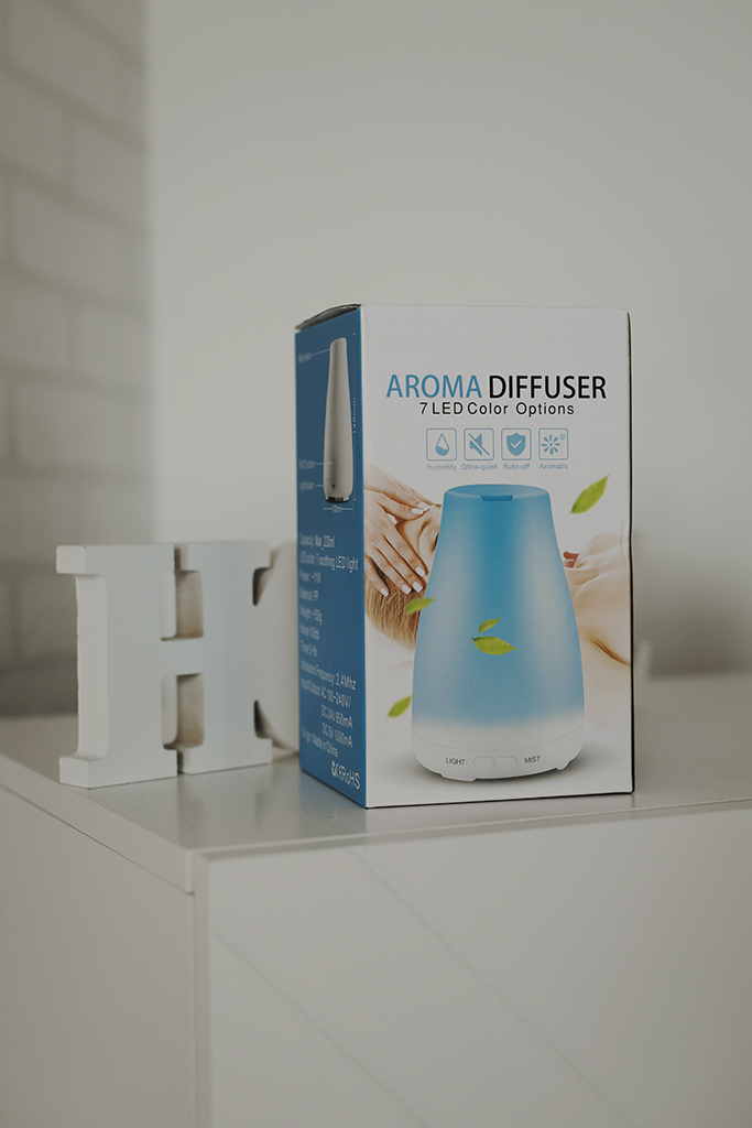 Dyfuzor zapachowy do aromaterapii