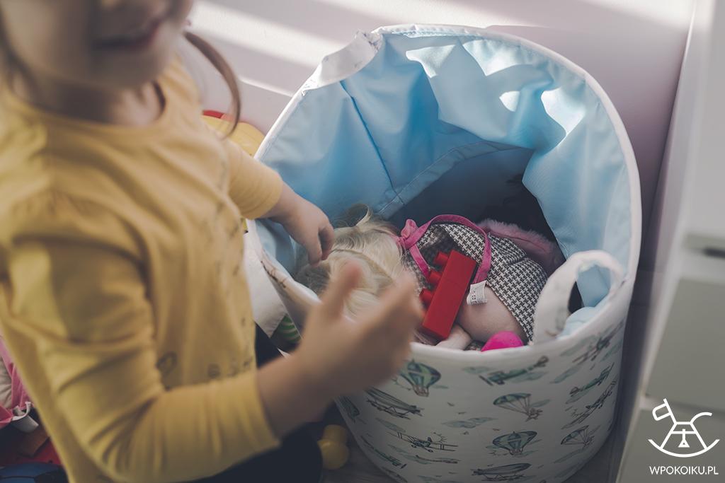 kosz na zabawki