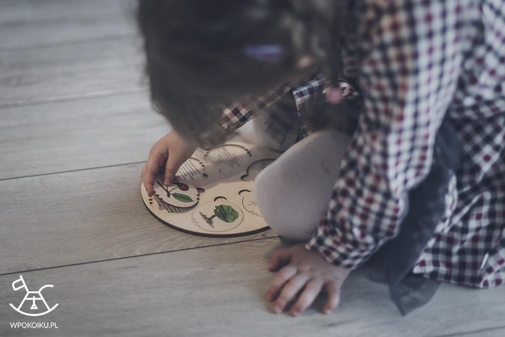 drewniane zabawki edukacyjne
