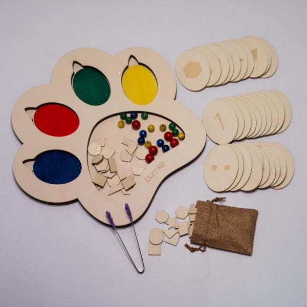 czym pomalowac drewniane zabawki