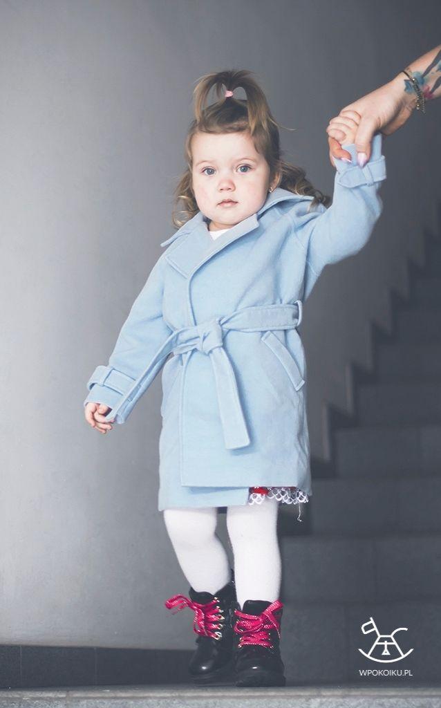 płaszczyk dla dziewczynki