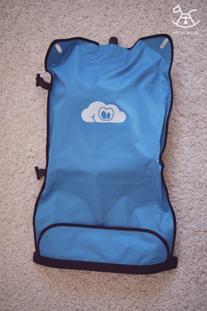 torba na samopompujący mobilny przewijak