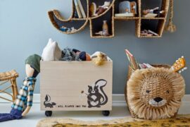 meble skandynawskie dla dzieci z drewna