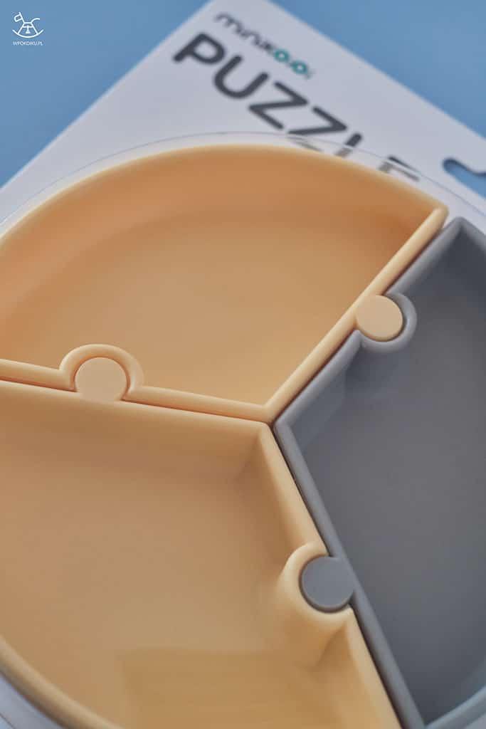 zbliżenie na talerzyki dzielone w opakowaniu