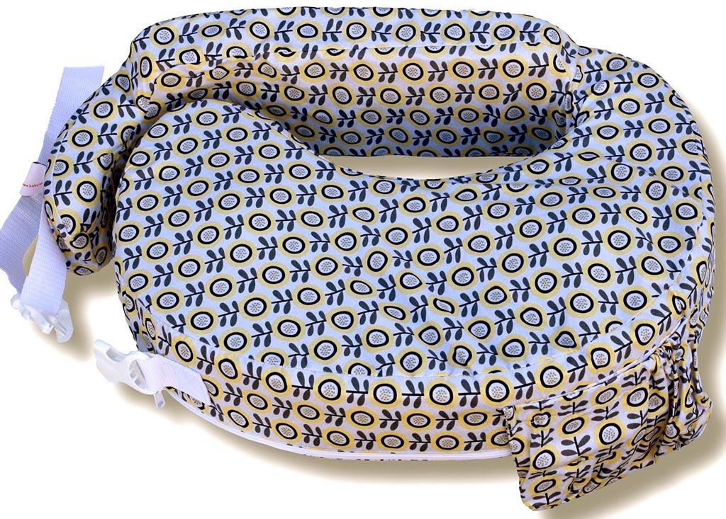 poduszka do karmienia w kolorowy wzór
