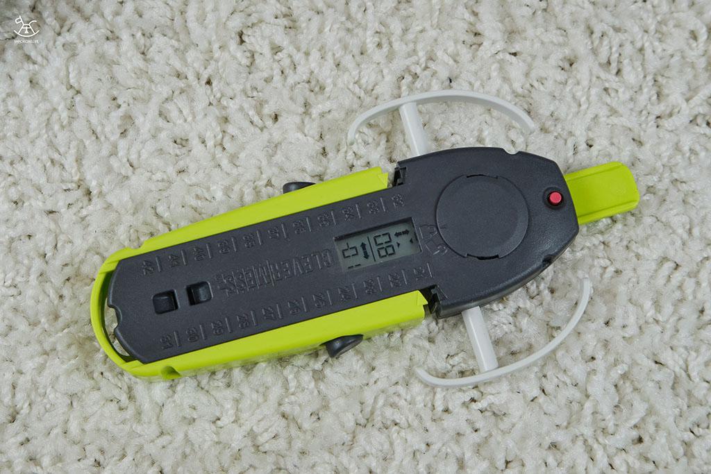 zbliżenie na urządzenie do pomiaru stopy